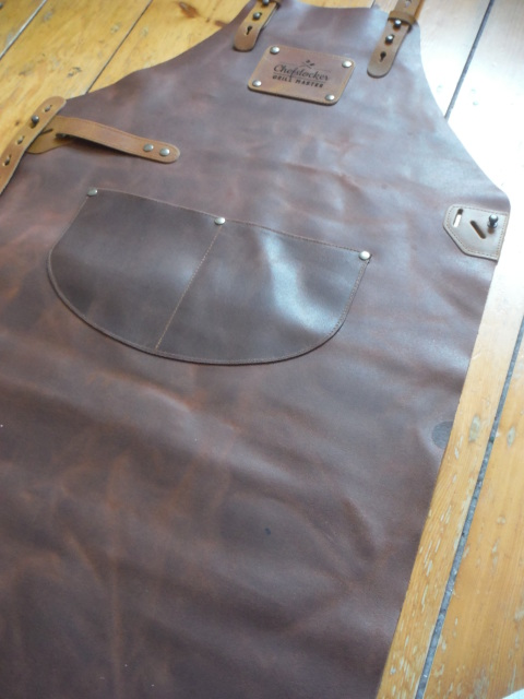 Leather Bbq Apron From The Uk