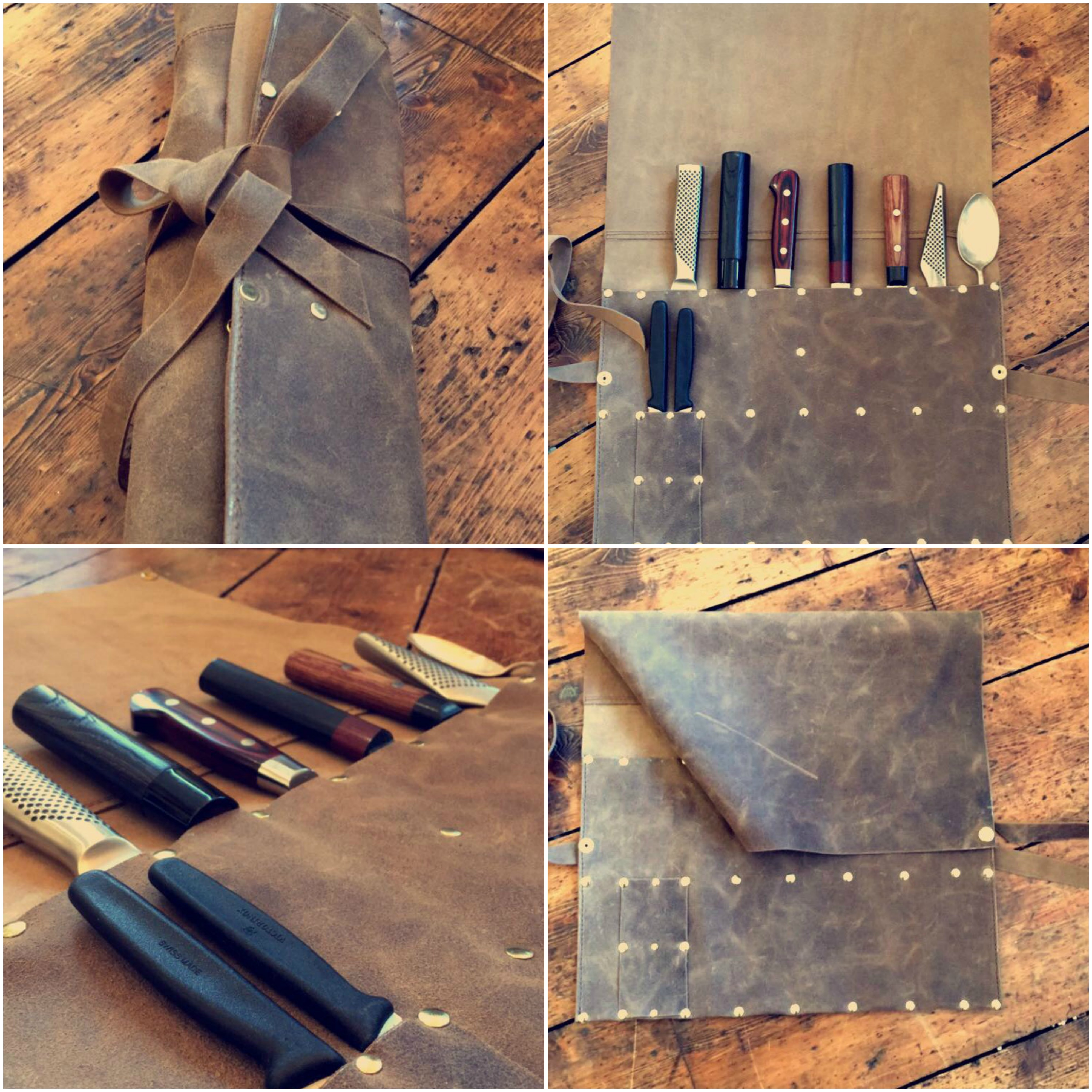 best leather knife roll