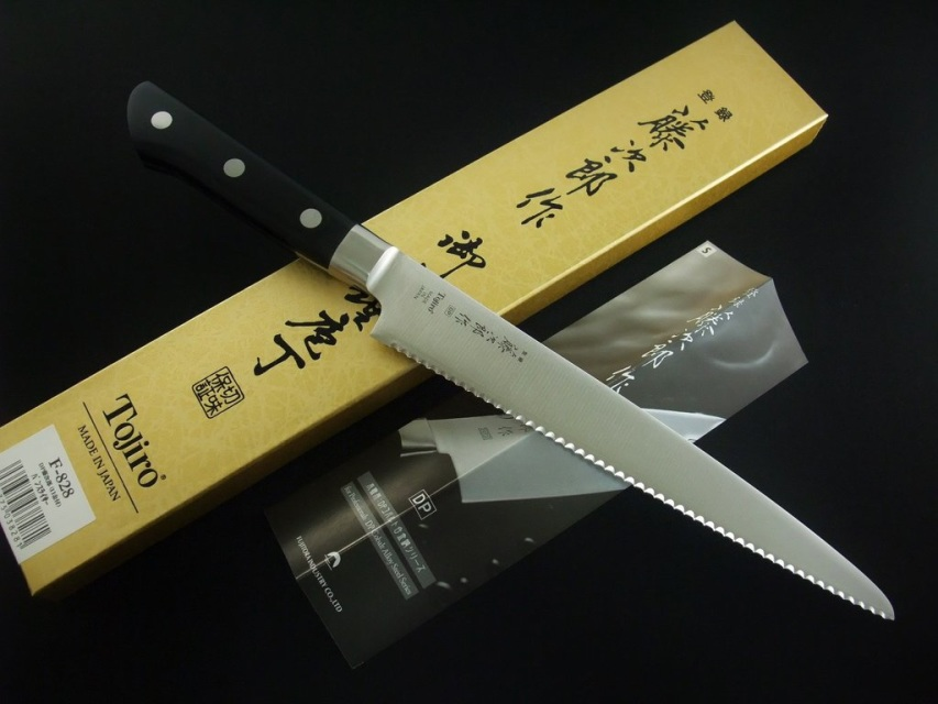 Tojiro Dp Vg10 Bread Knife 215mm