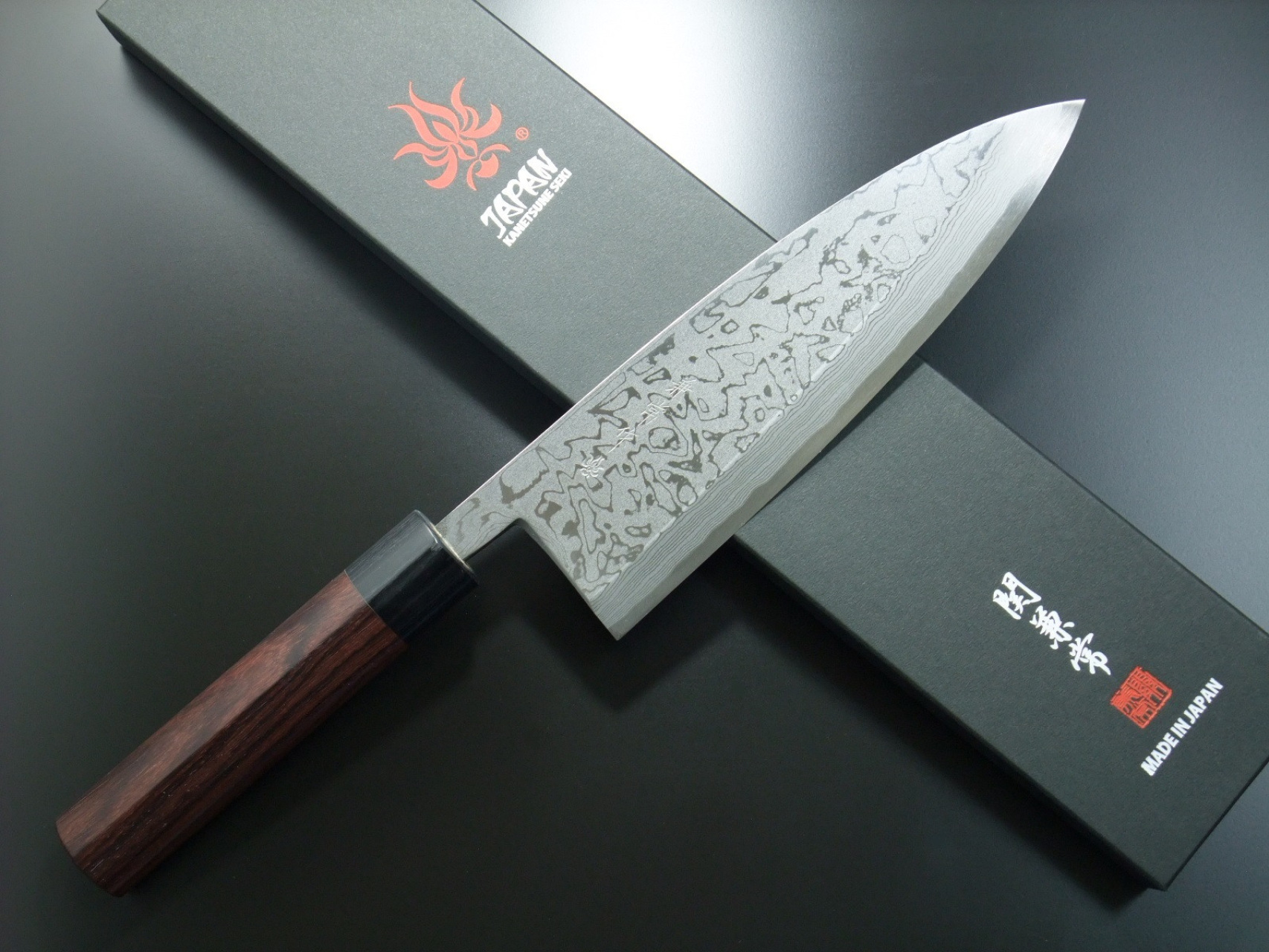 Black Steel Kitchen Knives